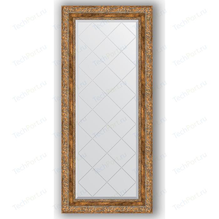 Фото - Зеркало с гравировкой поворотное Evoform Exclusive-G 55x125 см, в багетной раме - виньетка античная бронза 85 мм (BY 4058) зеркало с гравировкой поворотное evoform exclusive g 95x120 см в багетной раме виньетка античная латунь 85 мм by 4360
