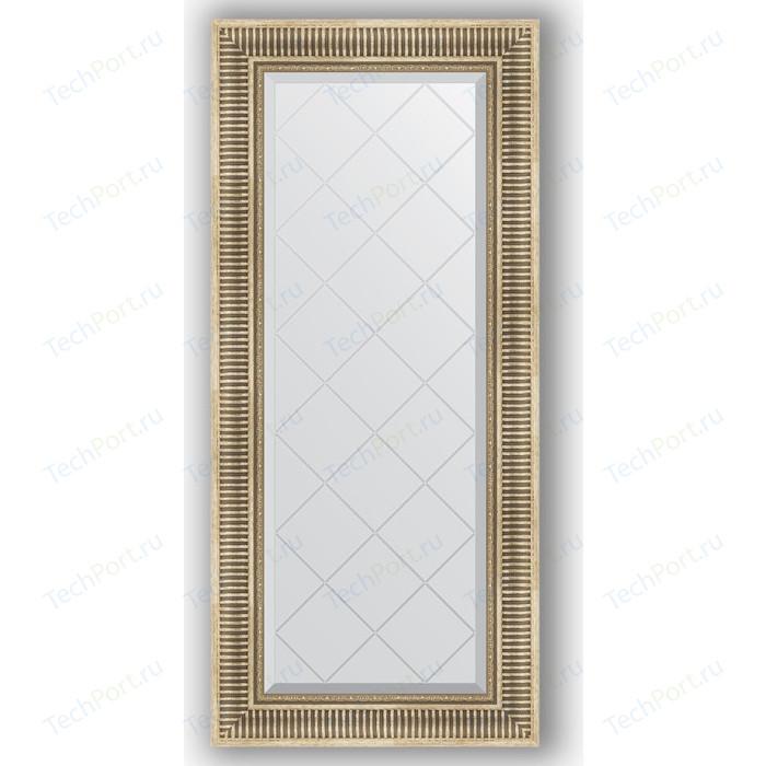 Фото - Зеркало с гравировкой поворотное Evoform Exclusive-G 57x127 см, в багетной раме - серебряный акведук 93 мм (BY 4067) зеркало с гравировкой поворотное evoform exclusive g 53x71 см в багетной раме серебряный бамбук 73 мм by 4007