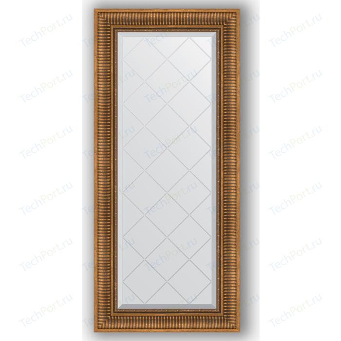 Фото - Зеркало с гравировкой поворотное Evoform Exclusive-G 57x127 см, в багетной раме - бронзовый акведук 93 мм (BY 4068) зеркало с фацетом в багетной раме поворотное evoform exclusive 57x77 см бронзовый акведук 93 мм by 3388