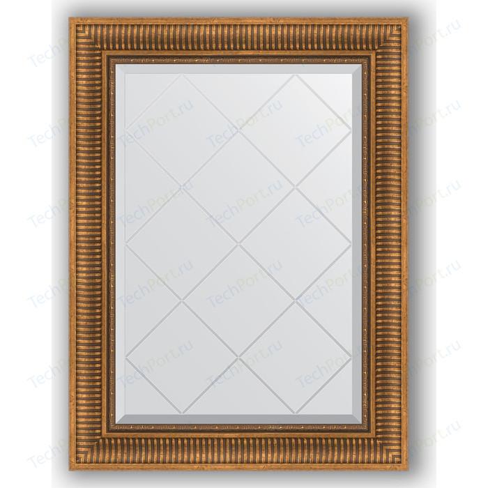 Фото - Зеркало с гравировкой поворотное Evoform Exclusive-G 67x90 см, в багетной раме - бронзовый акведук 93 мм (BY 4111) зеркало с фацетом в багетной раме поворотное evoform exclusive 57x77 см бронзовый акведук 93 мм by 3388