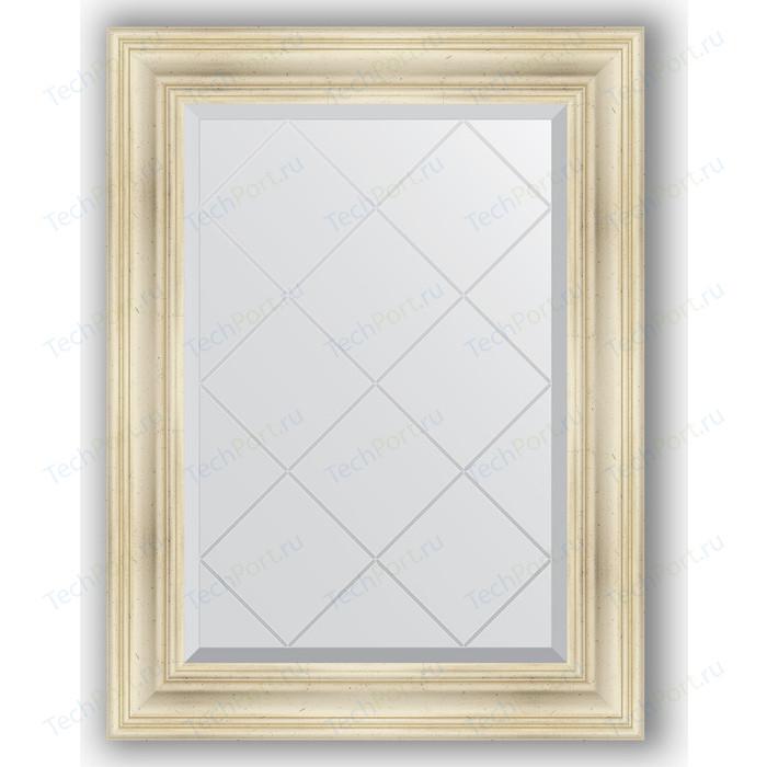 Фото - Зеркало с гравировкой поворотное Evoform Exclusive-G 69x91 см, в багетной раме - травленое серебро 99 мм (BY 4117) зеркало в багетной раме поворотное evoform definite 82x102 см травленое серебро 99 мм by 3284
