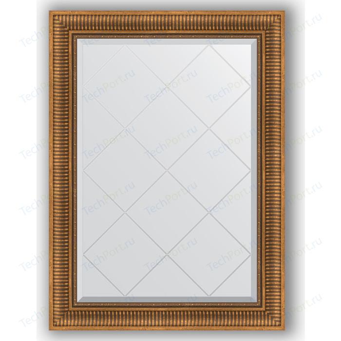 Фото - Зеркало с гравировкой поворотное Evoform Exclusive-G 77x105 см, в багетной раме - бронзовый акведук 93 мм (BY 4197) зеркало с фацетом в багетной раме поворотное evoform exclusive 57x77 см бронзовый акведук 93 мм by 3388
