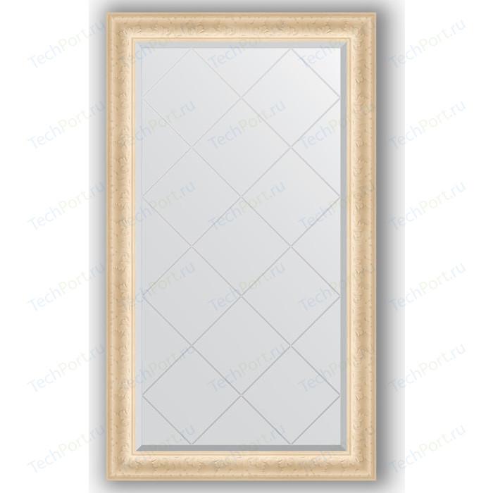 Зеркало с гравировкой поворотное Evoform Exclusive-G 75x130 см, в багетной раме - старый гипс 82 мм (BY 4226)