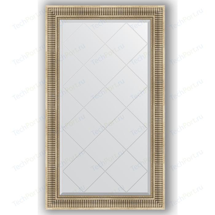 Фото - Зеркало с гравировкой поворотное Evoform Exclusive-G 77x132 см, в багетной раме - серебряный акведук 93 мм (BY 4239) зеркало с гравировкой поворотное evoform exclusive g 53x71 см в багетной раме серебряный бамбук 73 мм by 4007