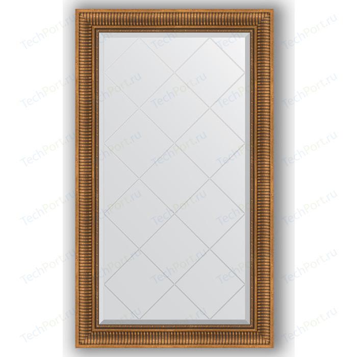 Фото - Зеркало с гравировкой поворотное Evoform Exclusive-G 77x132 см, в багетной раме - бронзовый акведук 93 мм (BY 4240) зеркало с фацетом в багетной раме поворотное evoform exclusive 57x77 см бронзовый акведук 93 мм by 3388