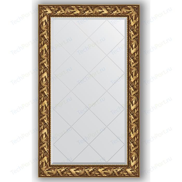 Зеркало с гравировкой поворотное Evoform Exclusive-G 79x133 см, в багетной раме - византия золото 99 мм (BY 4242)