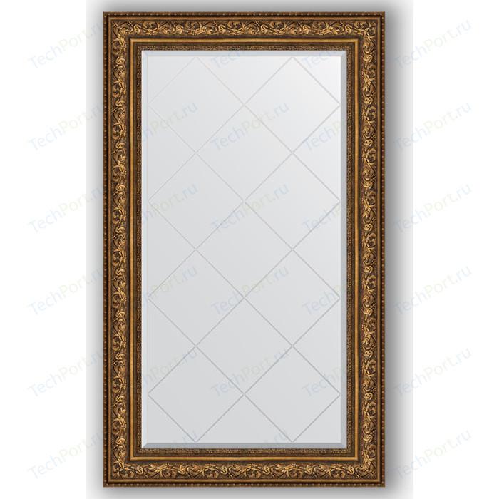 Зеркало с гравировкой поворотное Evoform Exclusive-G 80x135 см, в багетной раме - виньетка состаренная бронза 109 мм (BY 4255) зеркало с фацетом в багетной раме evoform exclusive 60x80 см виньетка состаренная бронза 109 мм by 3401