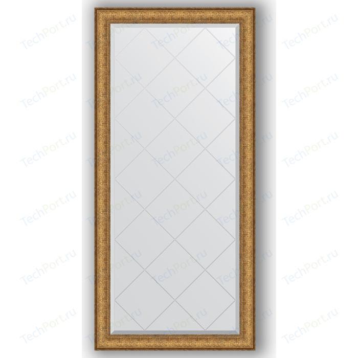 Зеркало с гравировкой поворотное Evoform Exclusive-G 74x156 см, в багетной раме - медный эльдорадо 73 мм (BY 4266)