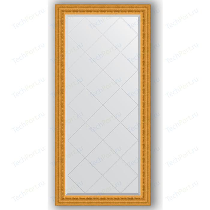 Зеркало с гравировкой поворотное Evoform Exclusive-G 75x157 см, в багетной раме - сусальное золото 80 мм (BY 4267) зеркало evoform exclusive floor 199х100 сусальное золото