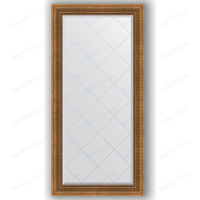 Фото - Зеркало с гравировкой поворотное Evoform Exclusive-G 77x160 см, в багетной раме - бронзовый акведук 93 мм (BY 4283) зеркало с фацетом в багетной раме поворотное evoform exclusive 57x77 см бронзовый акведук 93 мм by 3388