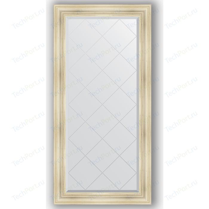 Фото - Зеркало с гравировкой поворотное Evoform Exclusive-G 79x161 см, в багетной раме - травленое серебро 99 мм (BY 4289) зеркало в багетной раме поворотное evoform definite 82x102 см травленое серебро 99 мм by 3284