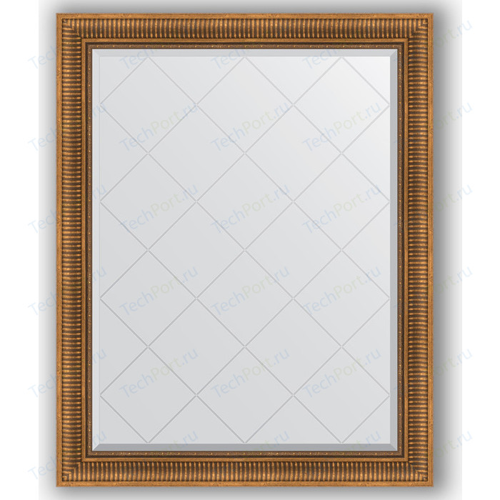 Фото - Зеркало с гравировкой поворотное Evoform Exclusive-G 97x122 см, в багетной раме - бронзовый акведук 93 мм (BY 4369) зеркало с фацетом в багетной раме поворотное evoform exclusive 57x77 см бронзовый акведук 93 мм by 3388