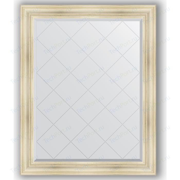 Фото - Зеркало с гравировкой поворотное Evoform Exclusive-G 99x124 см, в багетной раме - травленое серебро 99 мм (BY 4375) зеркало в багетной раме поворотное evoform definite 82x102 см травленое серебро 99 мм by 3284