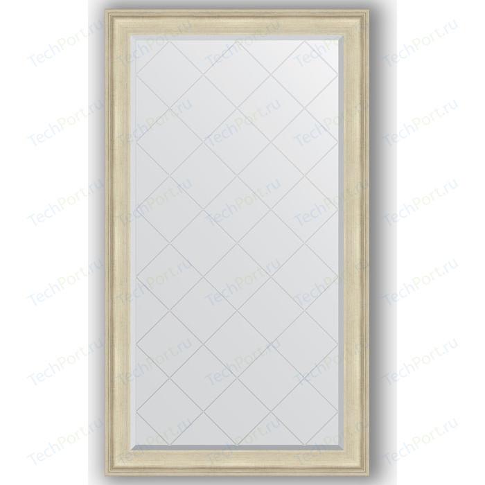 Зеркало с гравировкой поворотное Evoform Exclusive-G 98x173 см, в багетной раме - травленое серебро 95 мм (BY 4413)