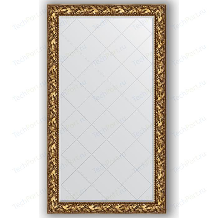Зеркало с гравировкой поворотное Evoform Exclusive-G 99x173 см, в багетной раме - византия золото 99 мм (BY 4414)