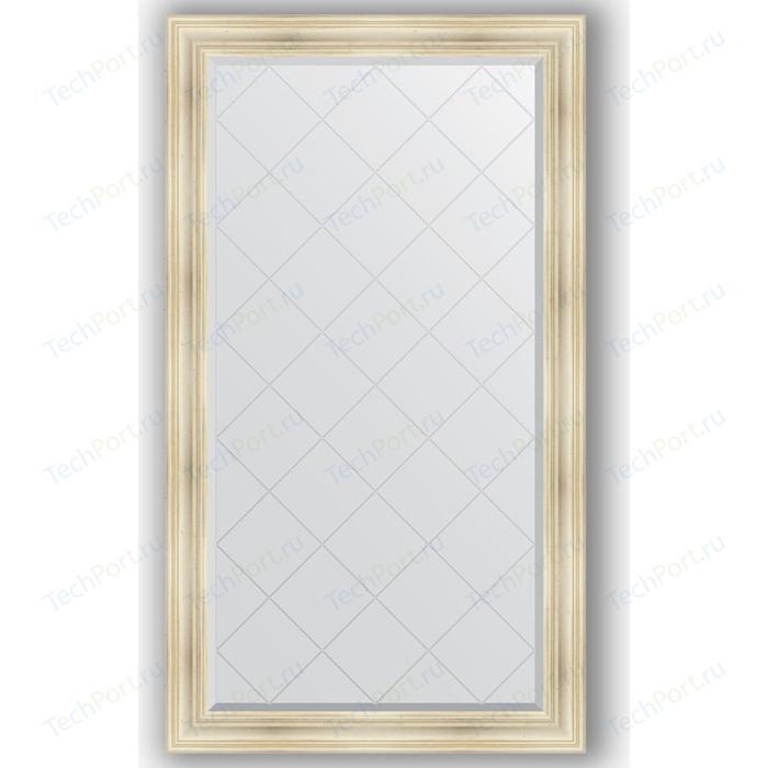 Фото - Зеркало с гравировкой поворотное Evoform Exclusive-G 99x174 см, в багетной раме - травленое серебро 99 мм (BY 4418) зеркало в багетной раме поворотное evoform definite 82x102 см травленое серебро 99 мм by 3284