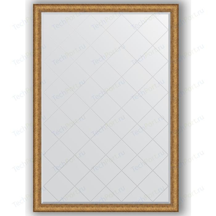 Зеркало с гравировкой поворотное Evoform Exclusive-G 129x183 см, в багетной раме - медный эльдорадо 73 мм (BY 4481)