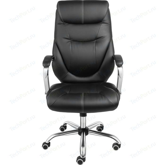 Кресло Алвест AV 116 СН (04) СХ эко кожа 223 черная