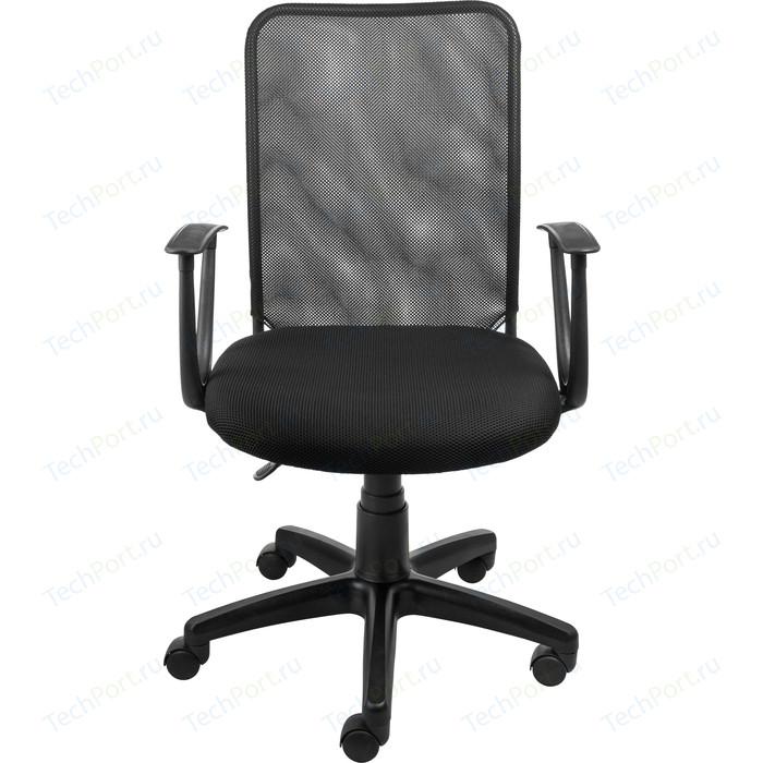 Кресло Алвест AV 220 PL (С) TW сетка/сетка односл 455/470 черн/черная