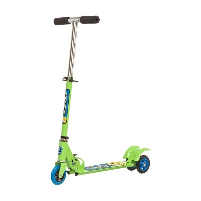 Самокат городской FOXX Smooth Motion сталь PVC колеса 100мм, ABEC-7, зеленый (100SM.FOXX.GN7) foxx самокат городской foxx fairy tale сталь pu колеса 100 мм abec 7 персиковый