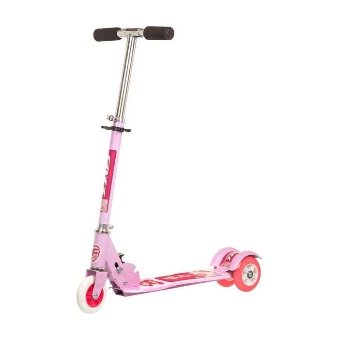 Самокат городской FOXX Smooth Motion сталь PVC колеса 100мм, ABEC-7, розовый (100SM.FOXX.PN7) foxx самокат городской foxx fairy tale сталь pu колеса 100 мм abec 7 персиковый