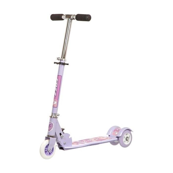 Самокат городской FOXX Smooth Motion сталь PVC колеса 100мм, ABEC-7, фиолетовый (100SM.FOXX.VL7)