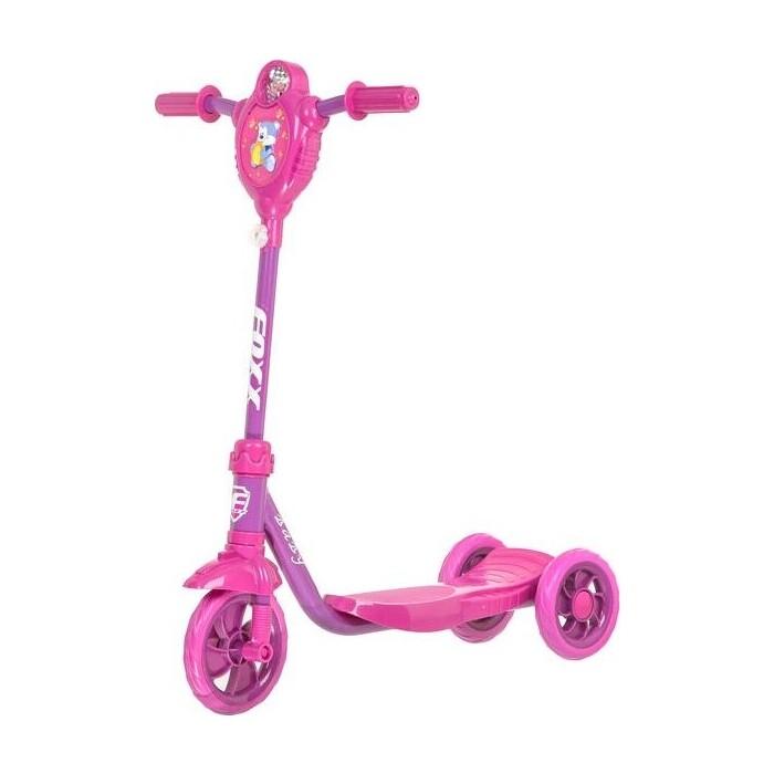 Самокат городской FOXX Baby с пластиковой платформой и EVA колеса ми 115мм, фиолетовый (115BABY.PN5)