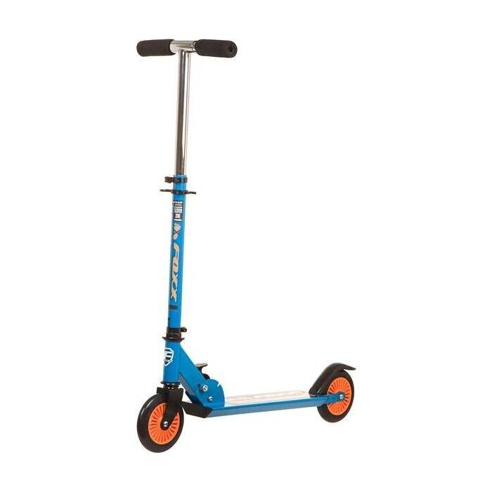 Самокат городской FOXX Extreme Power сталь PVC колеса 125мм, ABEC-7, синий (125EP.FOXX.BL7)