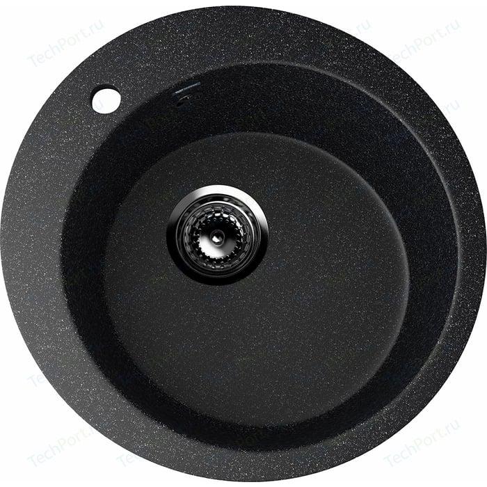 Кухонная мойка Ulgran U-405-308 черная
