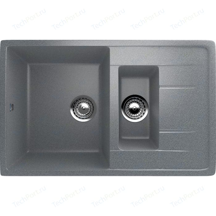 Кухонная мойка Ulgran U-205-309 темно-серая