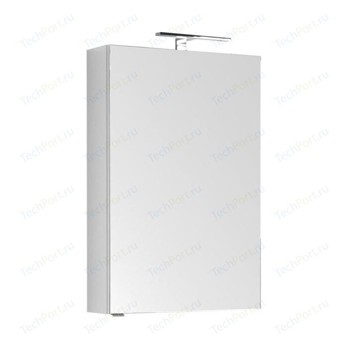 цена на Зеркальный шкаф Aquanet Рондо Камерино 60 белый (189163)