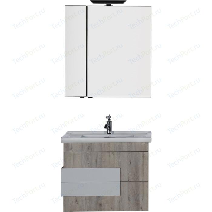 Мебель для ванной Aquanet Мадейра 80 дуб кантри