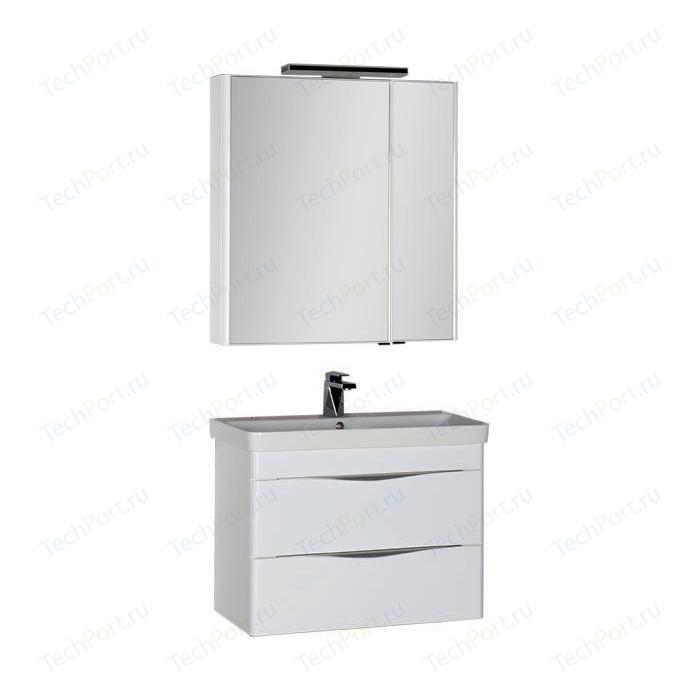 Мебель для ванной Aquanet Орлеан 80 белый