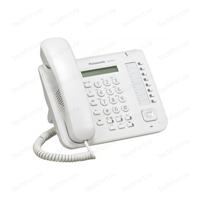 IP телефон Panasonic KX-DT521RU телефон ip panasonic kx hdv230rub черный