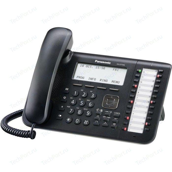 IP телефон Panasonic KX-DT546RUB