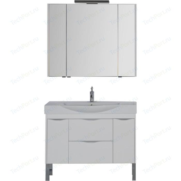 Мебель для ванной Aquanet Франка 105 белый