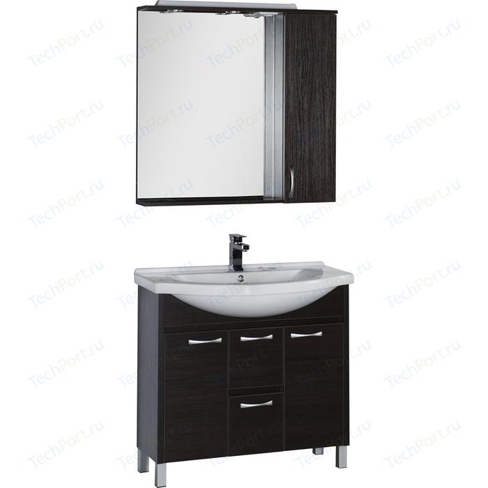 Мебель для ванной Aquanet Донна 90 венге