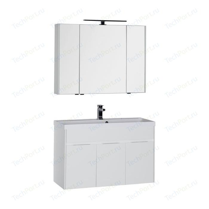 Мебель для ванной Aquanet Латина 100 белый