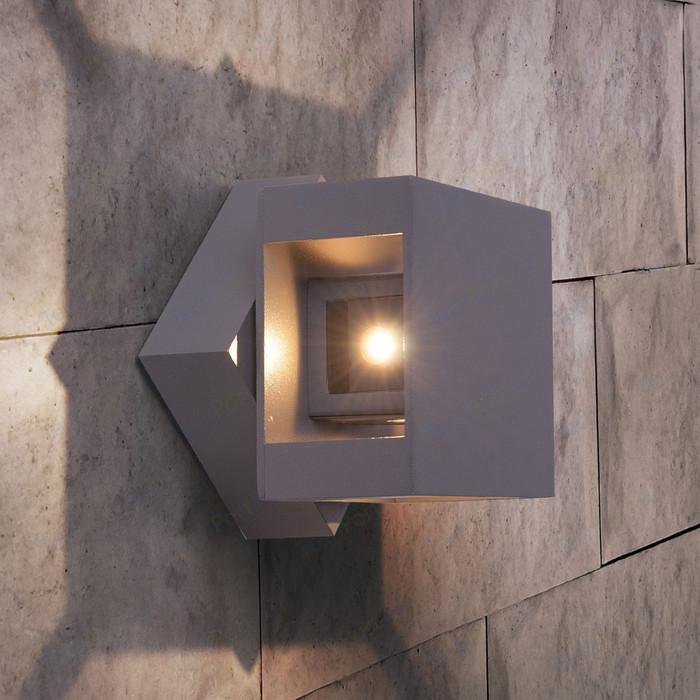 Уличный настенный светодиодный светильник Elektrostandard 4690389086052