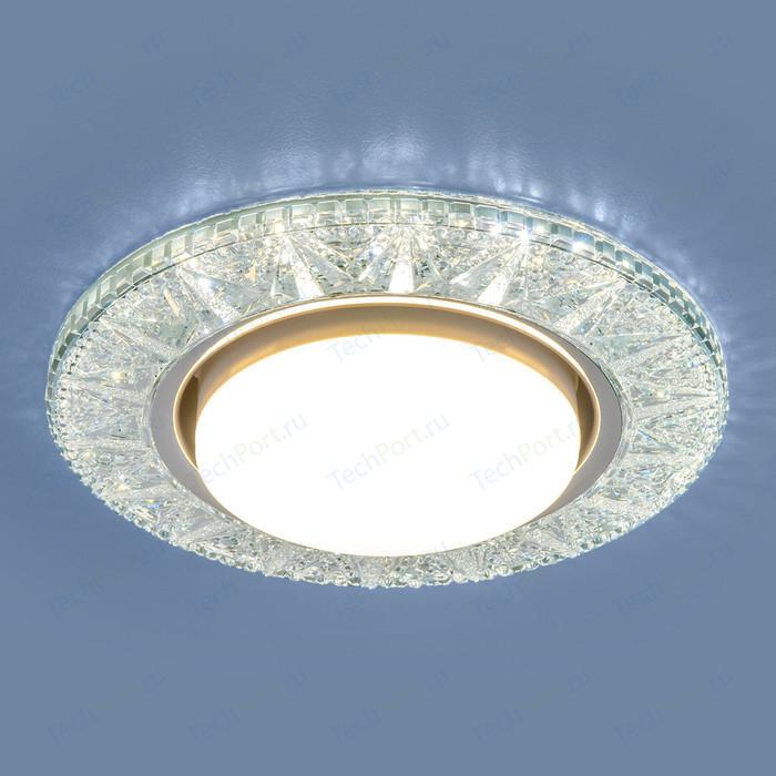 Точечный светильник с двойной подсветкой Elektrostandard 4690389100024