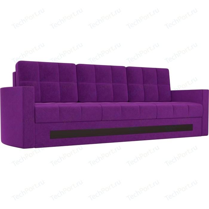 Диван АртМебель Белла микровельвет фиолетовый