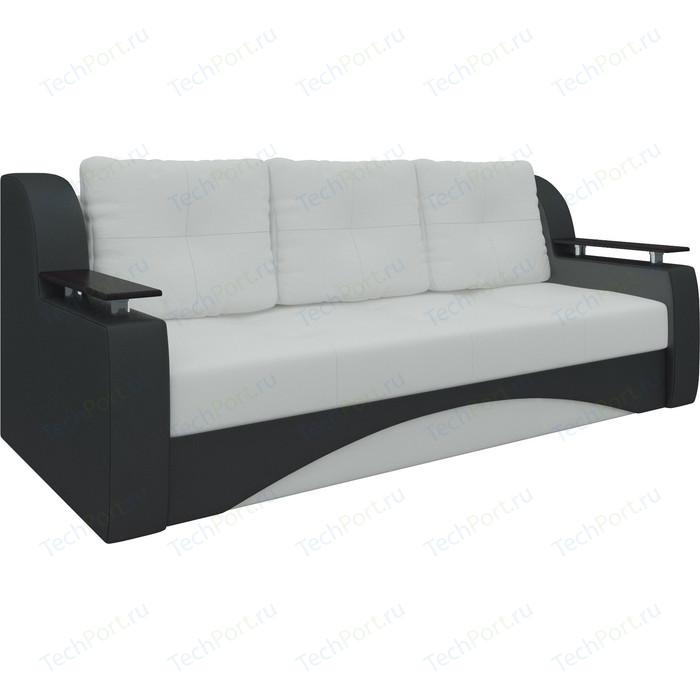 Фото - Диван-еврокнижка АртМебель Сенатор эко-кожа бело-черный диван еврокнижка артмебель атлант т эко кожа бело черный