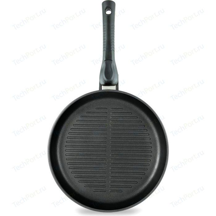 Сковорода-гриль со съемной ручкой НМП d 26см Ферра (54026)