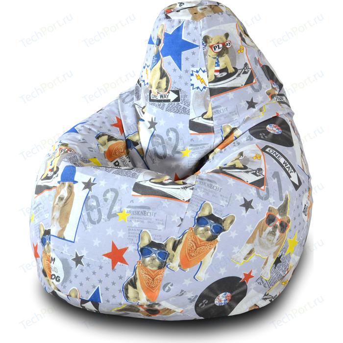 Фото - Кресло-мешок Груша Пазитифчик Бульдог 01 кресло мешок груша пазитифчик флаг 01
