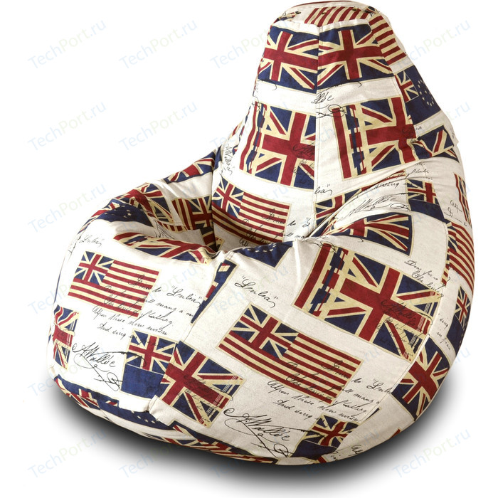 Фото - Кресло-мешок Груша Пазитифчик Флаг 01 кресло мешок груша пазитифчик флаг 01