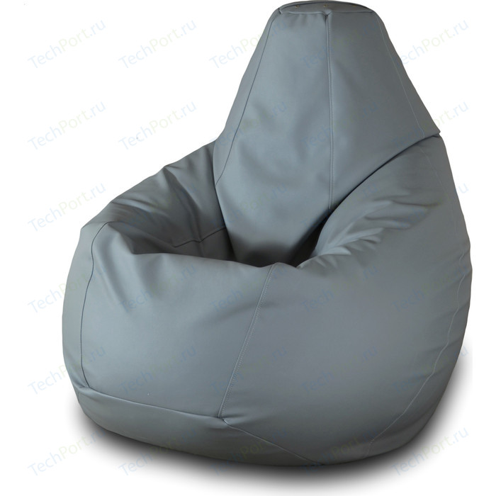 Кресло-мешок Груша Пазитифчик Бмэ2 серый