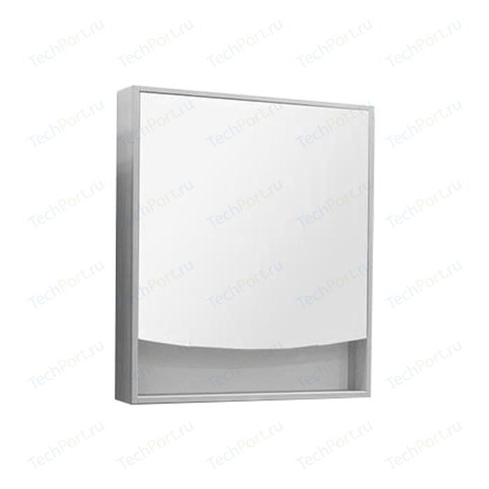 Зеркальный шкаф Акватон Инфинити 76 белый глянец (1A192102IF010)