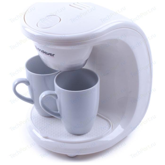 Кофеварка Endever Costa-1040 кофеварка endever costa 1005 серебристый черный