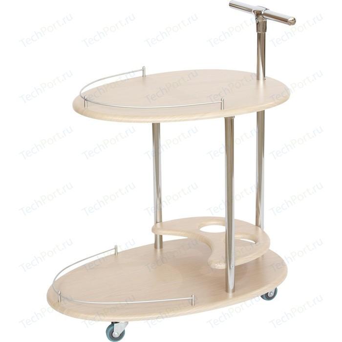 Стол сервировочный Калифорния мебель Фуршет дуб фартук женский santalino фуршет серый