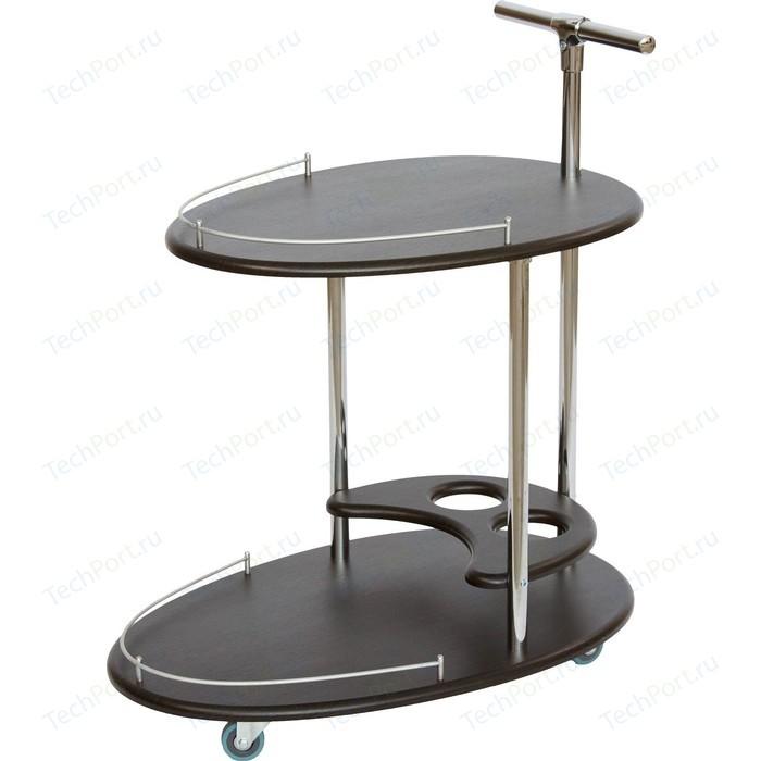 Стол сервировочный Калифорния мебель Фуршет венге фартук женский santalino фуршет серый